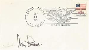 WW2 Luftwaffe ace Gen Adolf Galland KC signed 1976 US