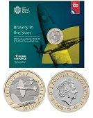 Royal Mint presentation pack from the Royal Air Force
