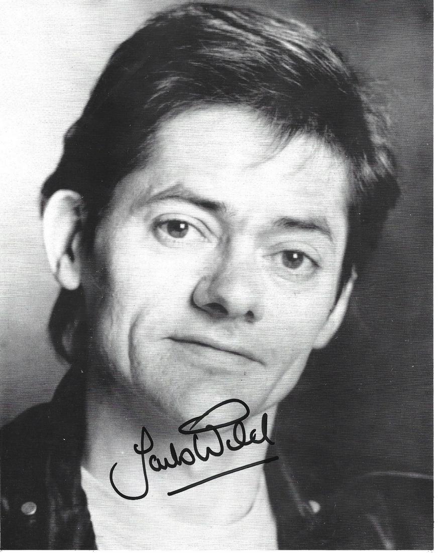 Jack Wild signed 10x8 black and white photo. Jack Wild