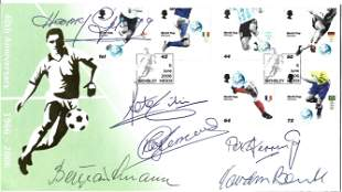Goalkeeper Legends multi signed 2006 World Cup 40th