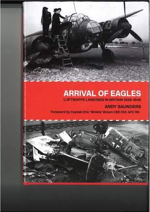 World War II Adolf Galland signed hardback book titled