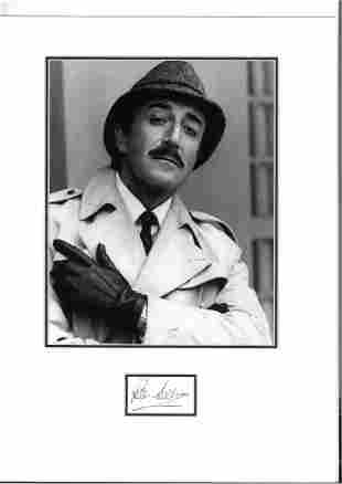 Peter Sellers 16x12 mounted signature piece includes