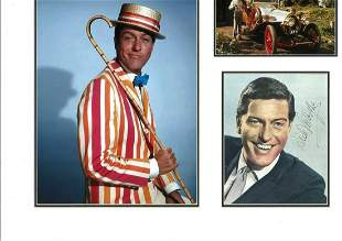 Dick Van Dyke 18x15 mounted signature piece includes