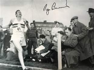 Sir Roger Bannister 4 Minute Mile Athlete Signed Photo