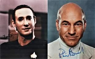 Star Trek collection, signed 10x8 colour photographs