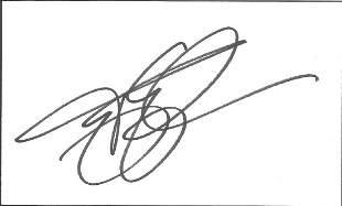 Terry Gilliam signed 4 x3 cream card. Good condition.