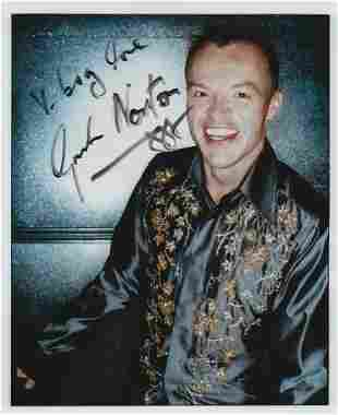 Graham Norton signed and inscribed 7x5 colour