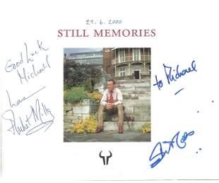 John and Juliette Mills signed hardback book Still