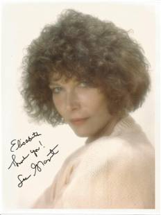 Lee Grant signed 10x8 colour photo. Dedicated. Good