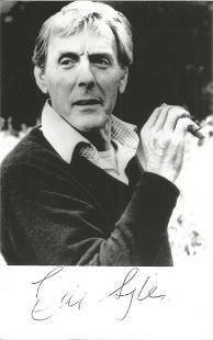 Eric Sykes signed 6x4 black and white photo. Good
