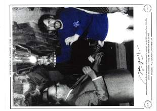 John Greig Signed Autographed Limited Edition 1972