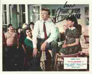 Tommy Steele signed 10x8 colour movie still from It's