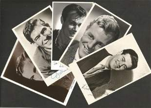 1950's Entertainment signed photo and letter