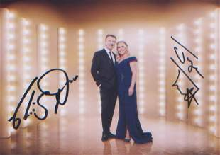 Torvill and Dean signed 7x5 photo of the legendary