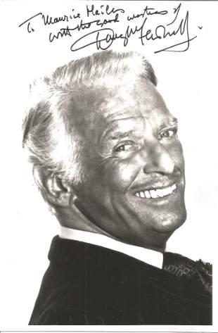 Douglas Fairbanks signed 7x5 black and white photo.