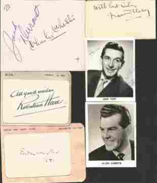 Actors & Directors signed collection mainly autograph