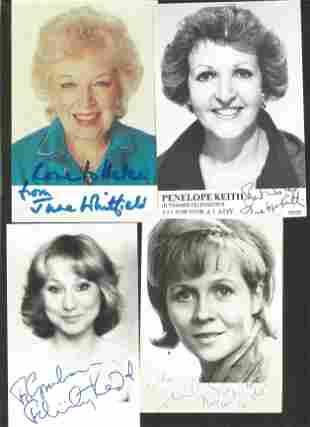 Actors & Entertainers signed collection. Helen Mirren,