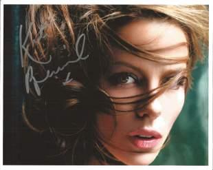 Kate Beckinsale signed 10x8 colour photo. Good