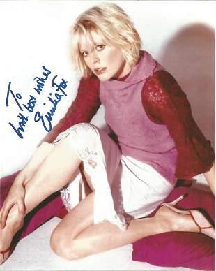 Emelia Fox signed 10x8 colour photo. Dedication