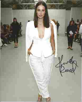 Heida Reed signed 10x8 colour photo. Good condition.
