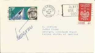 Valentina Tereshkova signed cover. Good condition. All