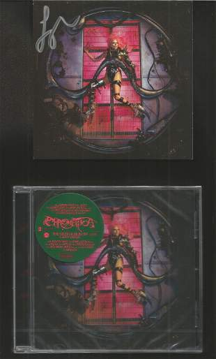 Lady Gaga signed CD insert. Also comes with The Sixth