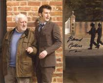 Doctor Who 8x10 scene photo signed by actor Bernard