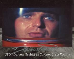 Derren Nesbitt signed 8x10 photo from the 1960's TV