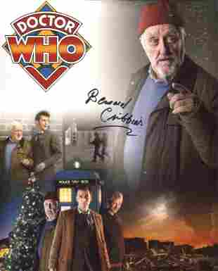 Doctor Who 8x10 montage of scenes photo signed by actor