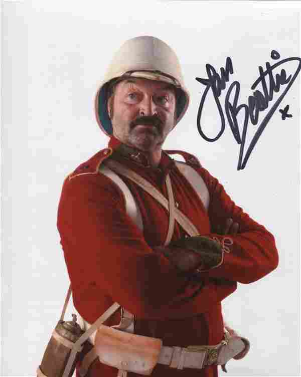 Doctor Who 8x10 photo signed by actor Ian Beattie. Good