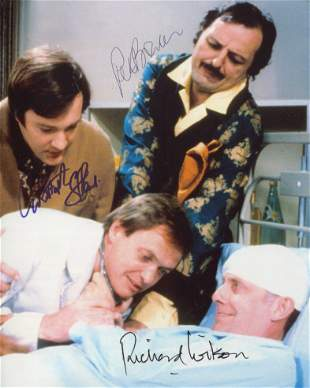 Only When I Laugh comedy series CAST SIGNED 8x10 photo