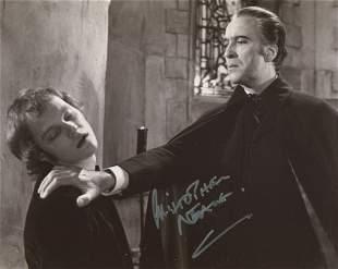 Dracula AD1972 hammer horror movie photo signed by