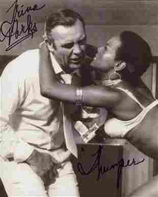 007 Bond girl Trina Parks as Thumper signed 8x10 photo