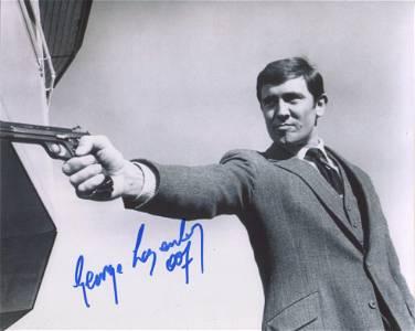007 James Bond 8x10 photo signed by James Bond himself,