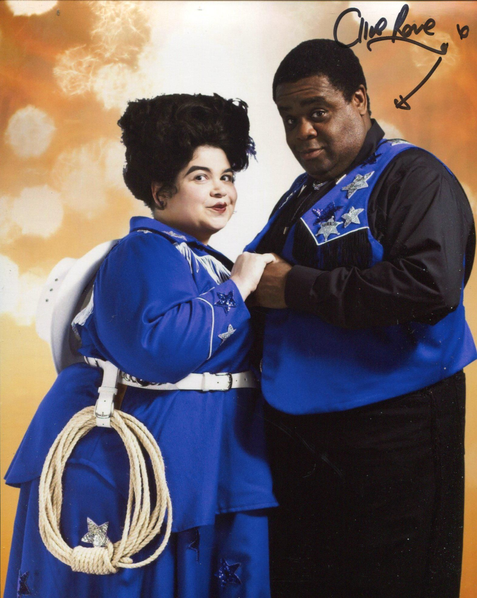 Doctor Who 8x10 photo signed by actor Clive Rowe as