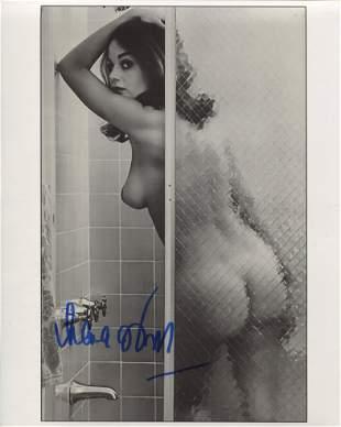 007 Bond girl Lana Wood signed photo, desirable image