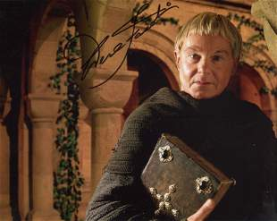Cadfael. 8x10 photo from Cadfael signed by actor Sir