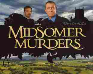 Midsomer Murders 8x10 photo signed by actor John
