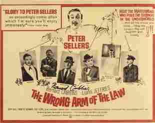 Bernard Cribbins signed 8x10 comedy movie photo. Good
