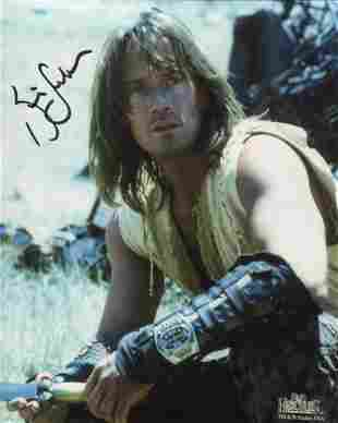 Kevin Sorbo signed 8x10 photo from the TV series