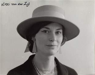 007 James Bond voice artist Nikki Van Der Zyl signed