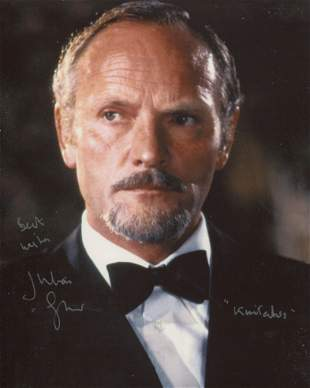 007 James Bond villain Julian Glover as Kristatos