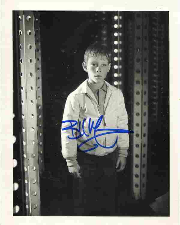 Lost in Space 8x10 TV series photo signed by actor Bill