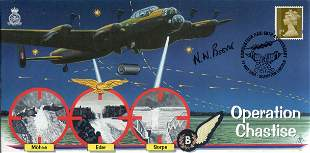 The Dambusters Operation Chastise cover signed by