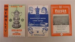 FA Cup football programmes 1965 1 x Final, 1 x Semi