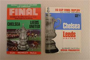FA Cup football programmes FA Cup 1970 Both of the FA