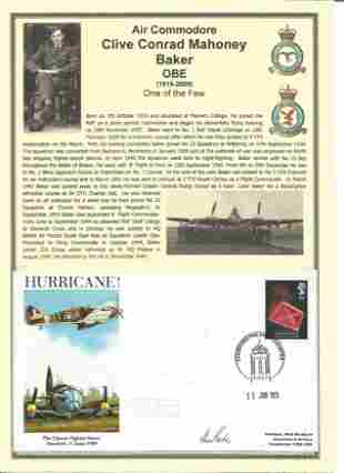 WW2 Battle of Britain fighter ace Air Commodore Clive
