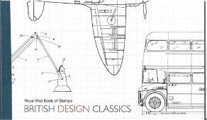 GB mint stamps Prestige Pack British design classics,