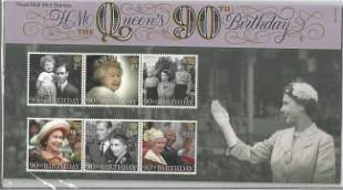GB mint stamps Presentation Pack no 525 HM The Queen's