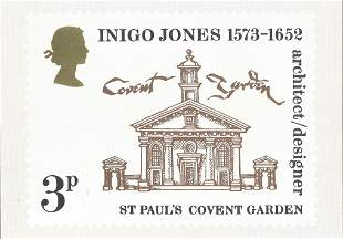 PHQ Card Number 2 Mint, Inigo Jones 1573-1652. Good